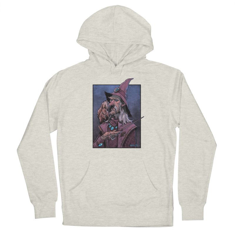 Wizard with Squirrel Men's Pullover Hoody by Ambrose H.H.'s Artist Shop