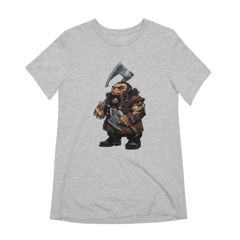 Axe Master Women's Extra Soft T-Shirt by Ambrose H.H.'s Artist Shop