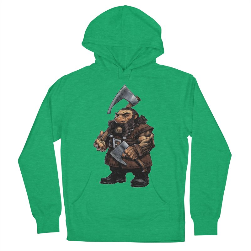 Axe Master Men's French Terry Pullover Hoody by Ambrose H.H.'s Artist Shop