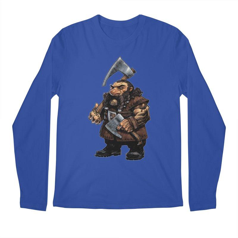 Axe Master Men's Regular Longsleeve T-Shirt by Ambrose H.H.'s Artist Shop