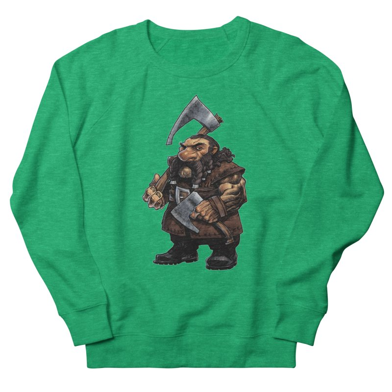 Axe Master Women's French Terry Sweatshirt by Ambrose H.H.'s Artist Shop