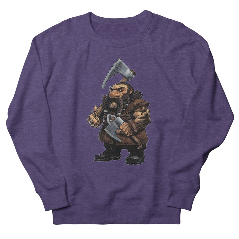 Axe Master Men's French Terry Sweatshirt by Ambrose H.H.'s Artist Shop