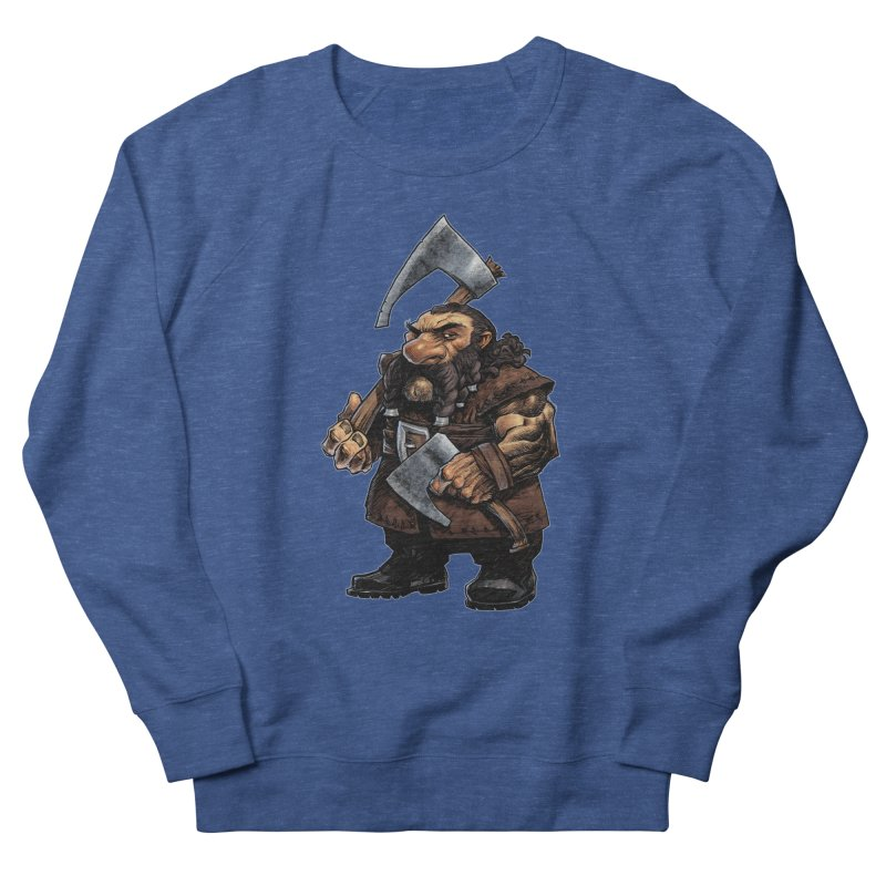Axe Master Men's Sweatshirt by Ambrose H.H.'s Artist Shop