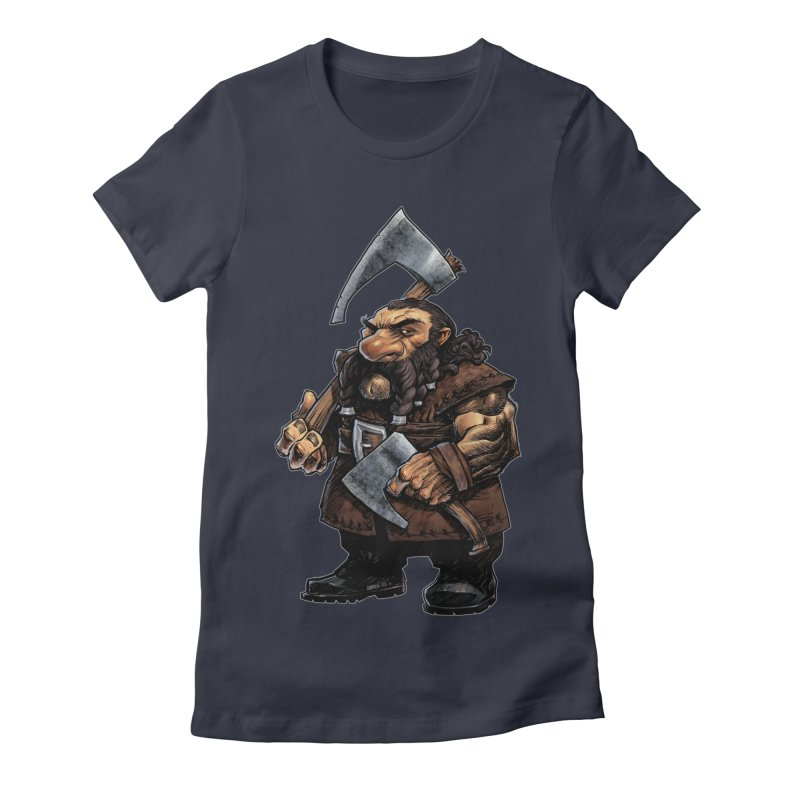 Axe Master Women's Fitted T-Shirt by Ambrose H.H.'s Artist Shop