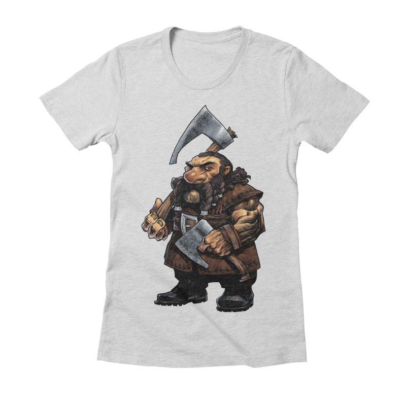 Axe Master Women's T-Shirt by Ambrose H.H.'s Artist Shop