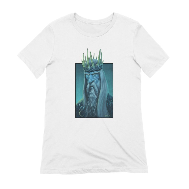 King of Madness Women's T-Shirt by Ambrose H.H.'s Artist Shop