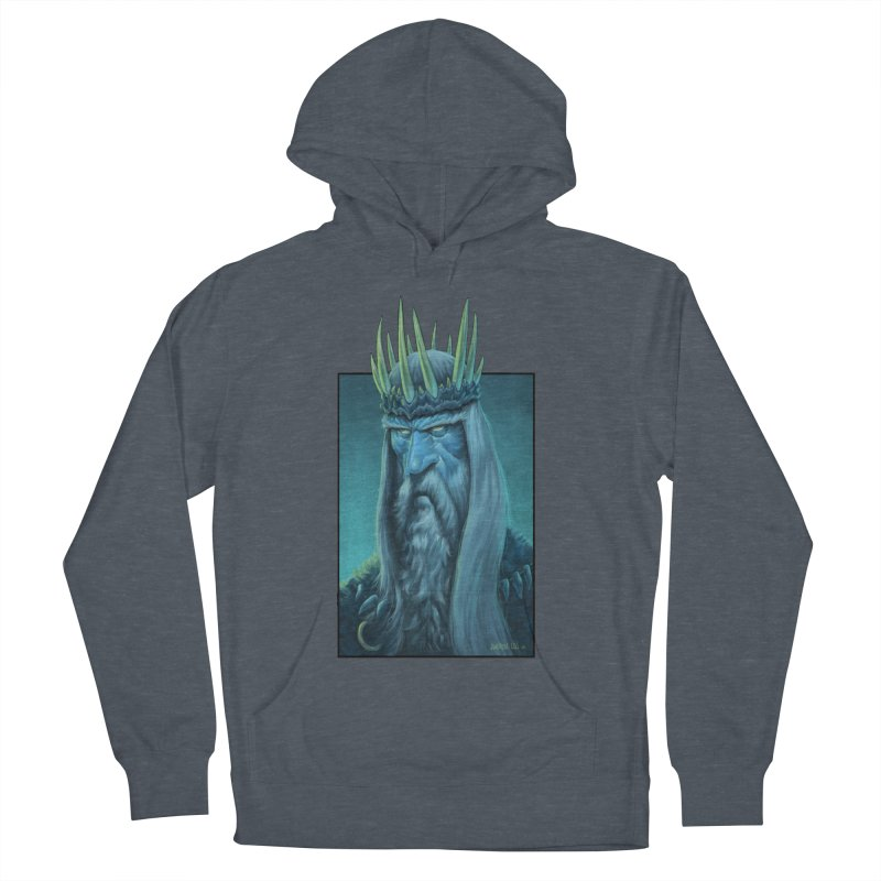 King of Madness Men's French Terry Pullover Hoody by Ambrose H.H.'s Artist Shop