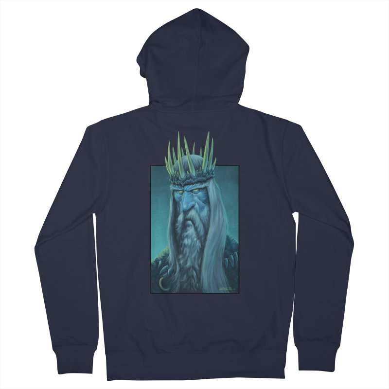 King of Madness Women's Zip-Up Hoody by Ambrose H.H.'s Artist Shop