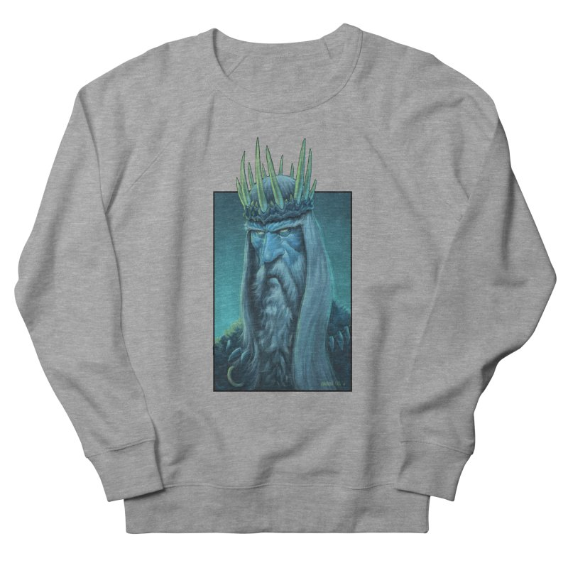 King of Madness Women's French Terry Sweatshirt by Ambrose H.H.'s Artist Shop