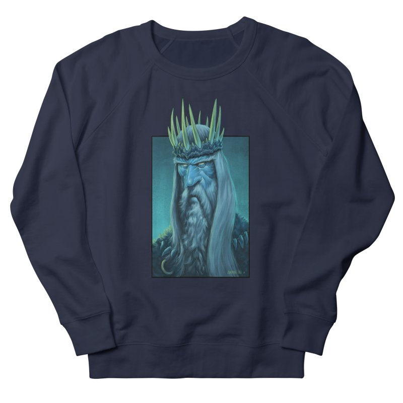 King of Madness Men's French Terry Sweatshirt by Ambrose H.H.'s Artist Shop