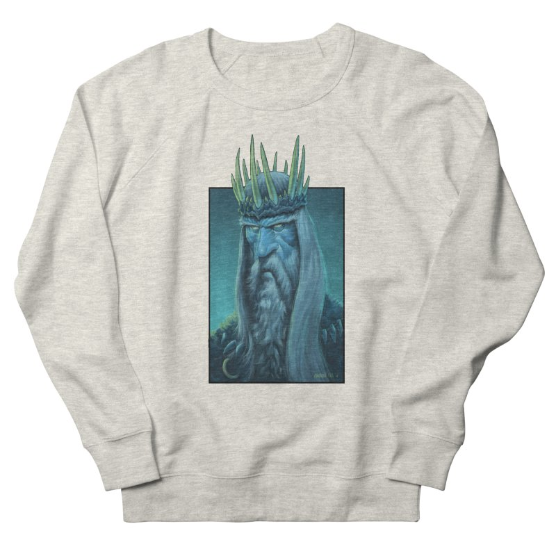 King of Madness Men's Sweatshirt by Ambrose H.H.'s Artist Shop
