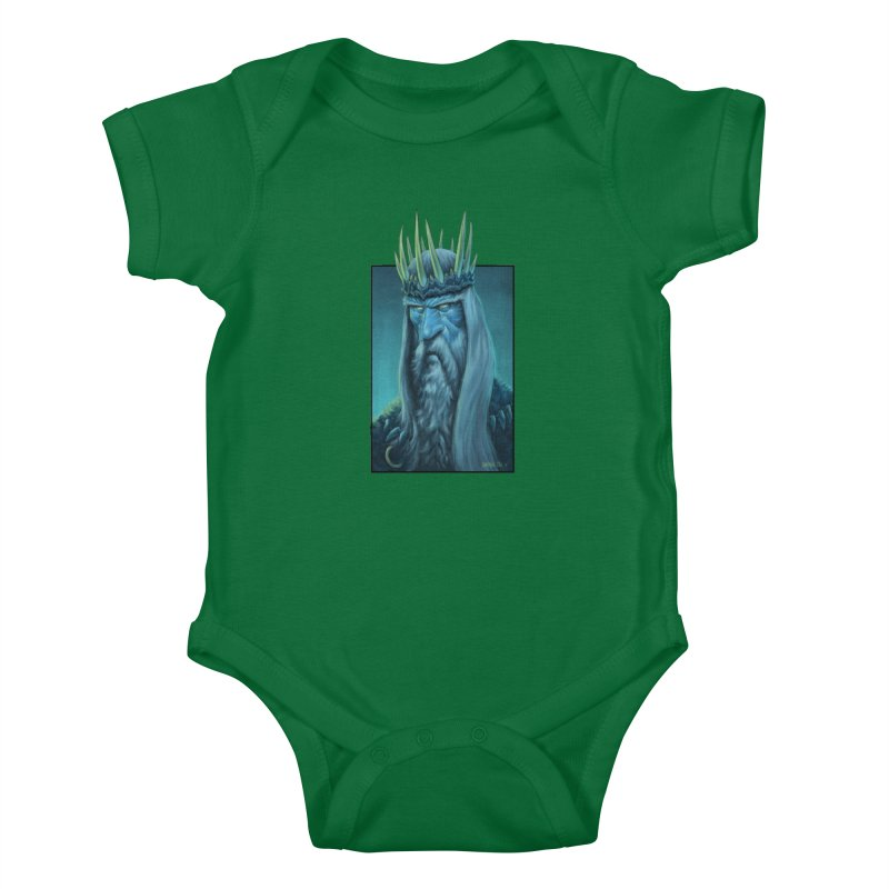 King of Madness Kids Baby Bodysuit by Ambrose H.H.'s Artist Shop