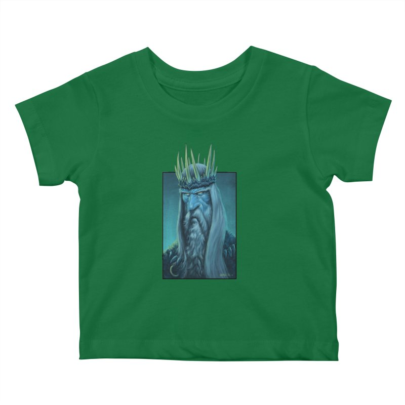 King of Madness Kids Baby T-Shirt by Ambrose H.H.'s Artist Shop