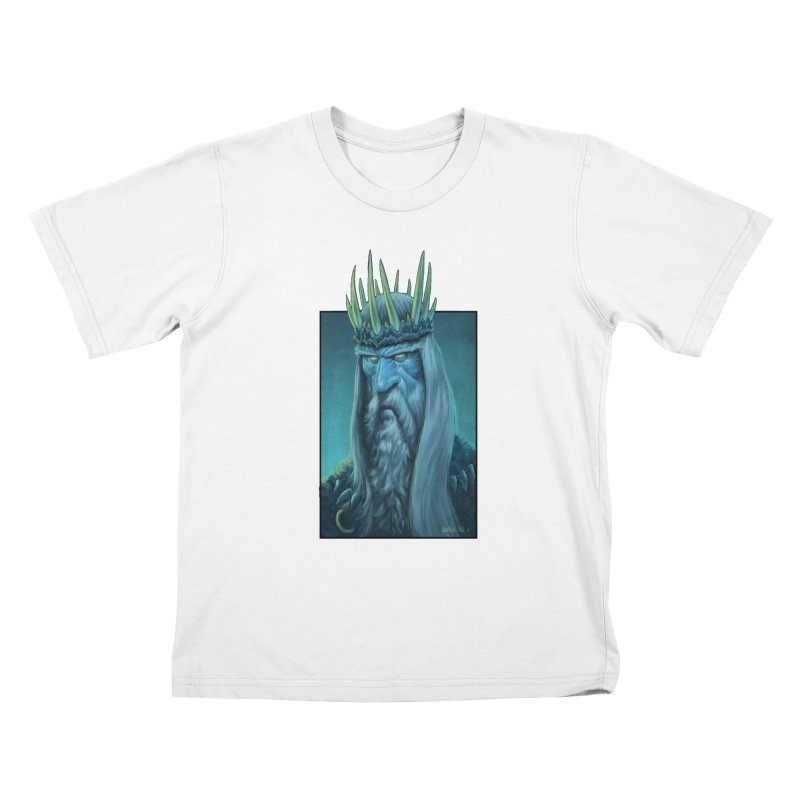 King of Madness Kids T-Shirt by Ambrose H.H.'s Artist Shop