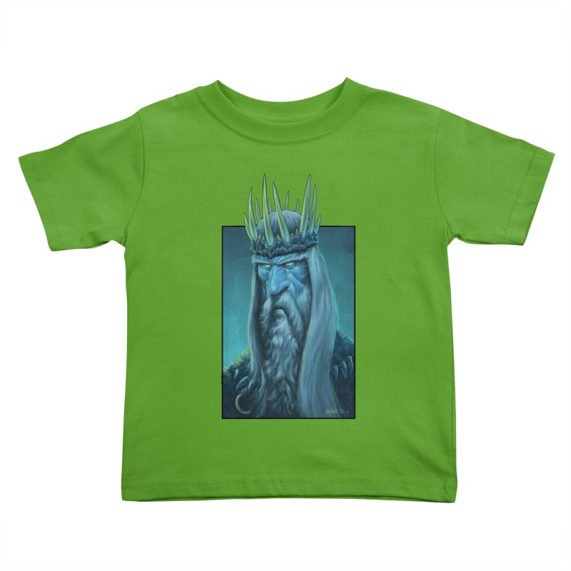 King of Madness Kids Toddler T-Shirt by Ambrose H.H.'s Artist Shop