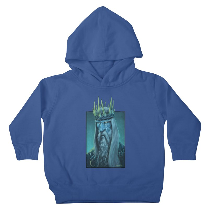 King of Madness Kids Toddler Pullover Hoody by Ambrose H.H.'s Artist Shop