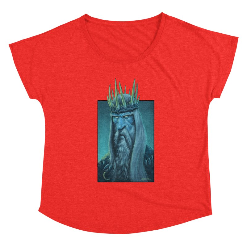 King of Madness Women's Scoop Neck by Ambrose H.H.'s Artist Shop
