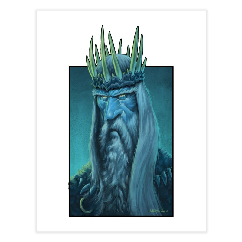 King of Madness Home Fine Art Print by Ambrose H.H.'s Artist Shop