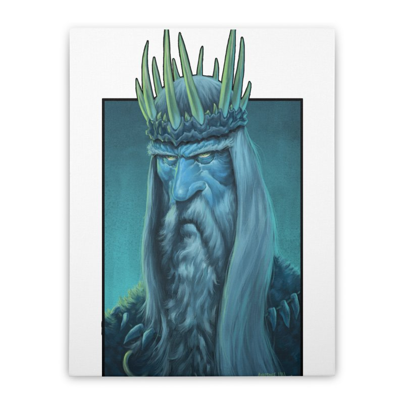 King of Madness Home Stretched Canvas by Ambrose H.H.'s Artist Shop