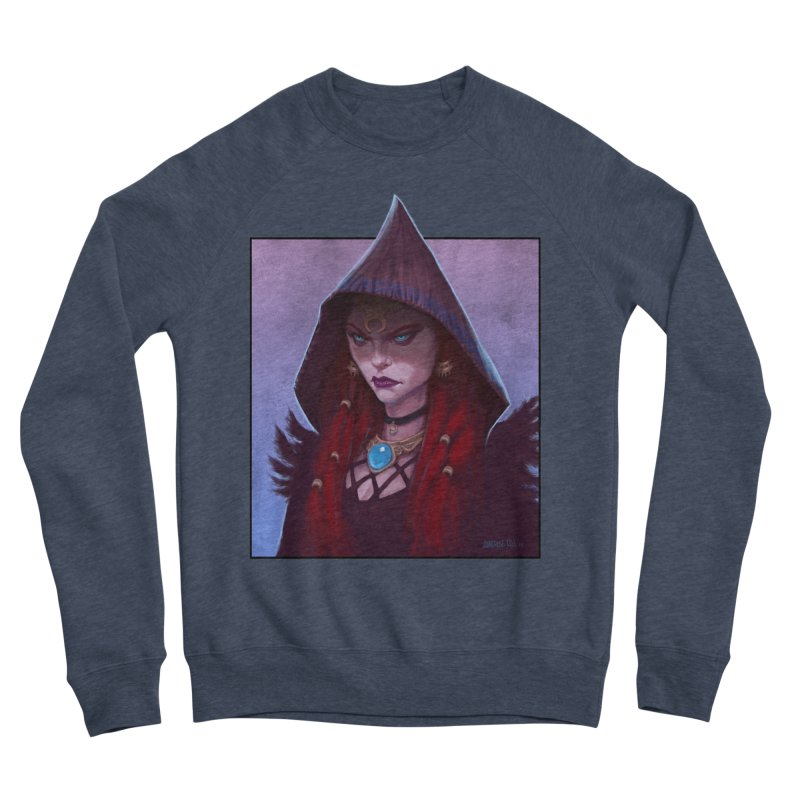 The Priestess Men's Sweatshirt by Ambrose H.H.'s Artist Shop