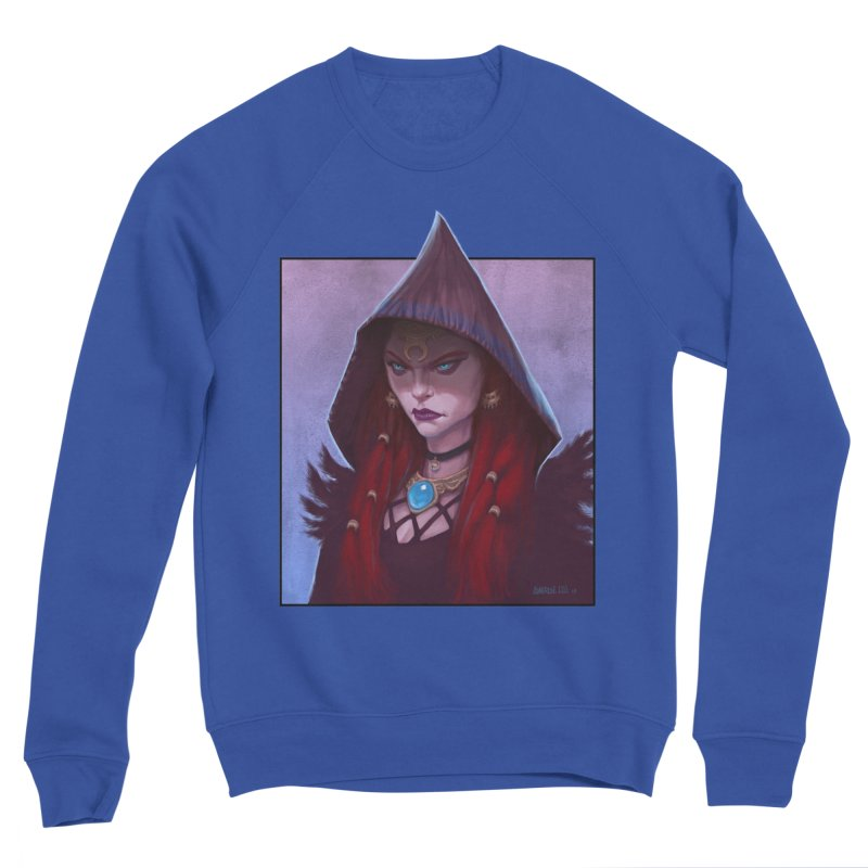 The Priestess Men's Sweatshirt by Ambrose H.H.'s Artist Shop