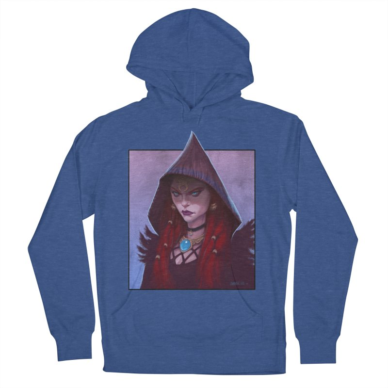 The Priestess Women's French Terry Pullover Hoody by Ambrose H.H.'s Artist Shop