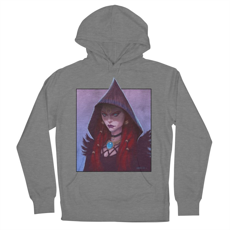 The Priestess Men's French Terry Pullover Hoody by Ambrose H.H.'s Artist Shop