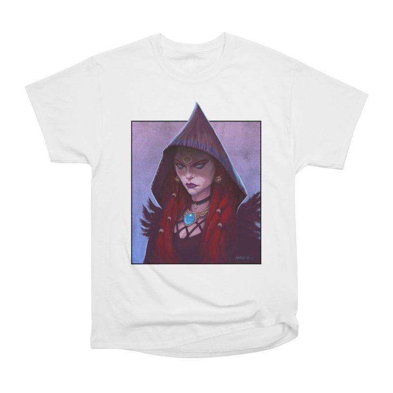 The Priestess Men's Heavyweight T-Shirt by Ambrose H.H.'s Artist Shop