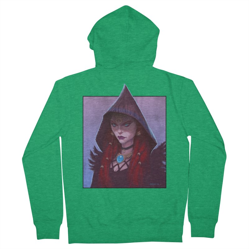 The Priestess Women's Zip-Up Hoody by Ambrose H.H.'s Artist Shop