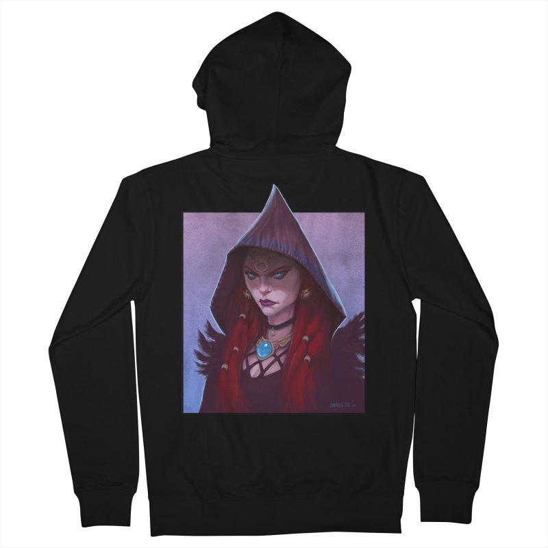 The Priestess Women's French Terry Zip-Up Hoody by Ambrose H.H.'s Artist Shop