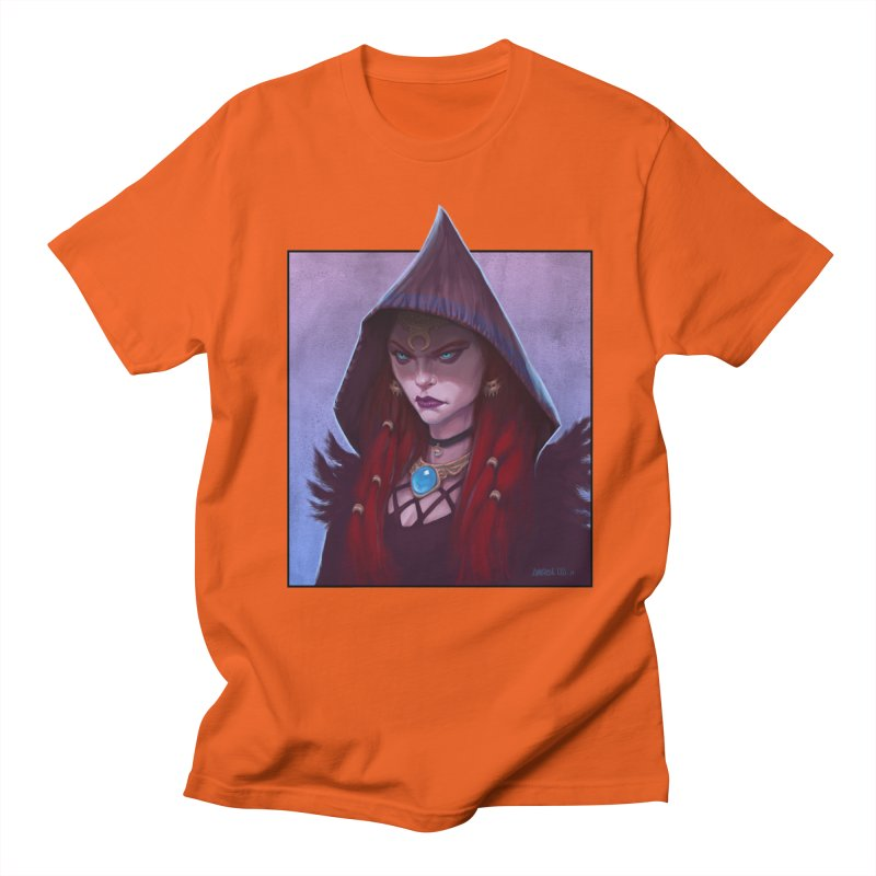 The Priestess Men's T-Shirt by Ambrose H.H.'s Artist Shop