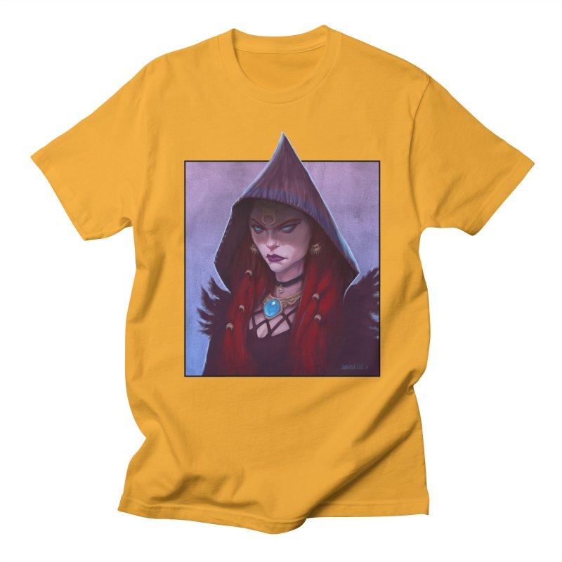The Priestess Men's Regular T-Shirt by Ambrose H.H.'s Artist Shop