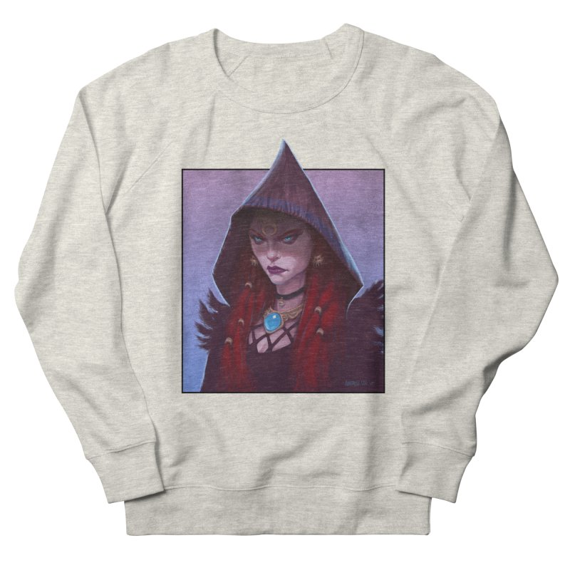 The Priestess Women's French Terry Sweatshirt by Ambrose H.H.'s Artist Shop