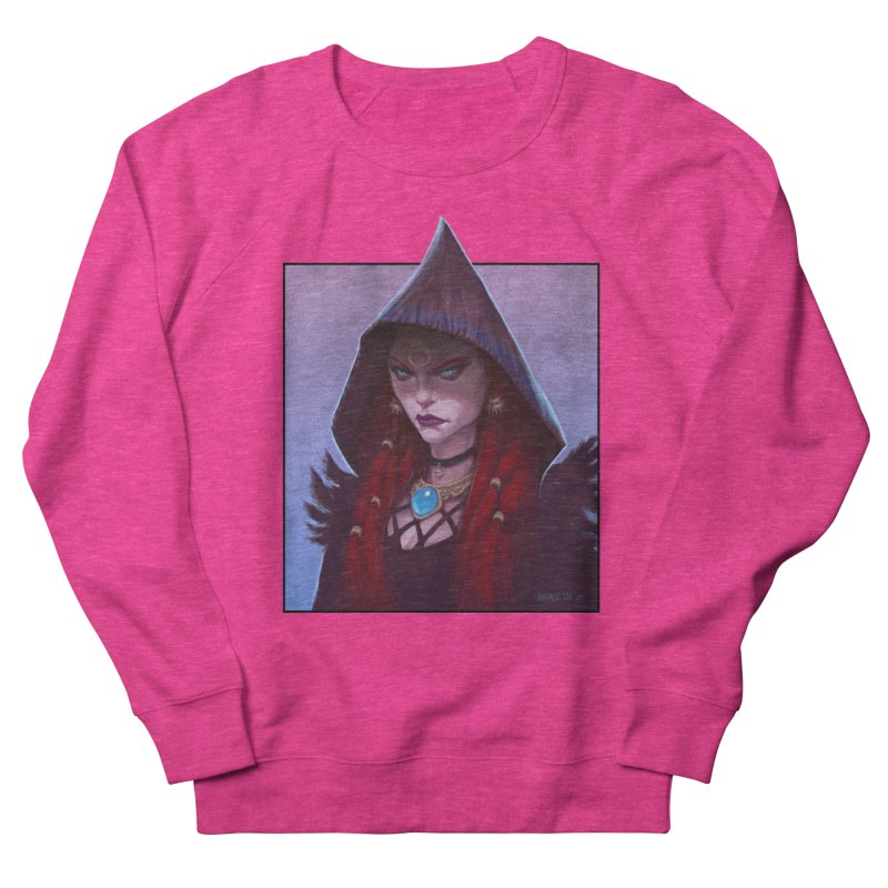 The Priestess Men's French Terry Sweatshirt by Ambrose H.H.'s Artist Shop