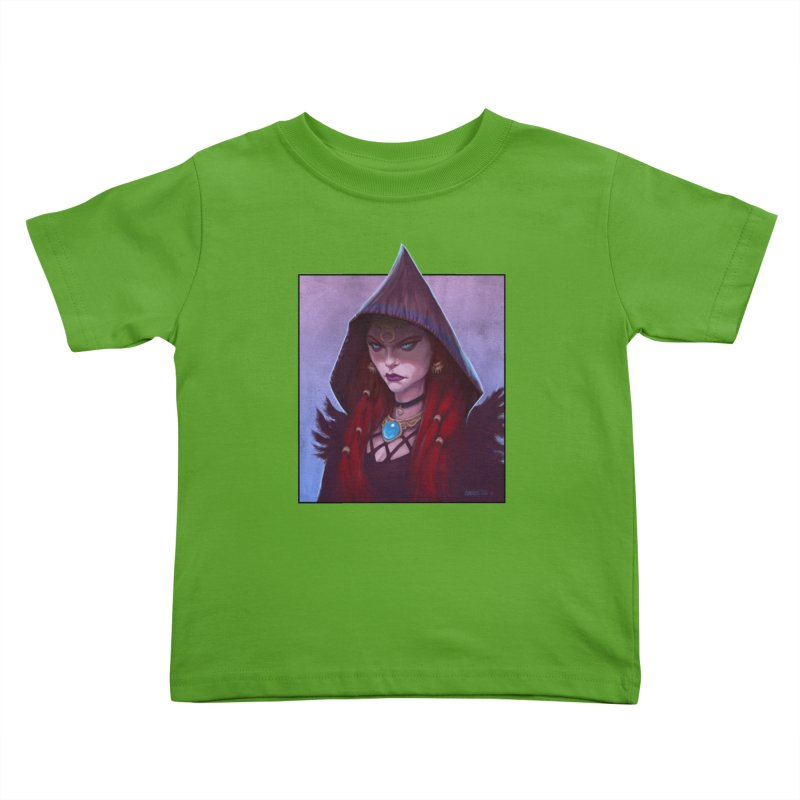 The Priestess Kids Toddler T-Shirt by Ambrose H.H.'s Artist Shop