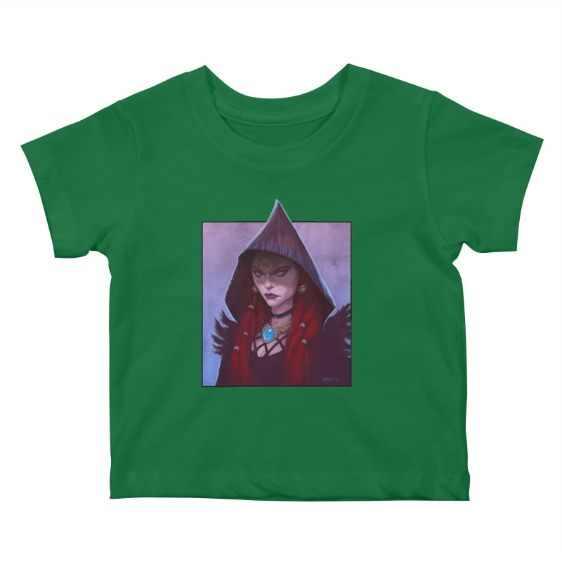 The Priestess Kids Baby T-Shirt by Ambrose H.H.'s Artist Shop