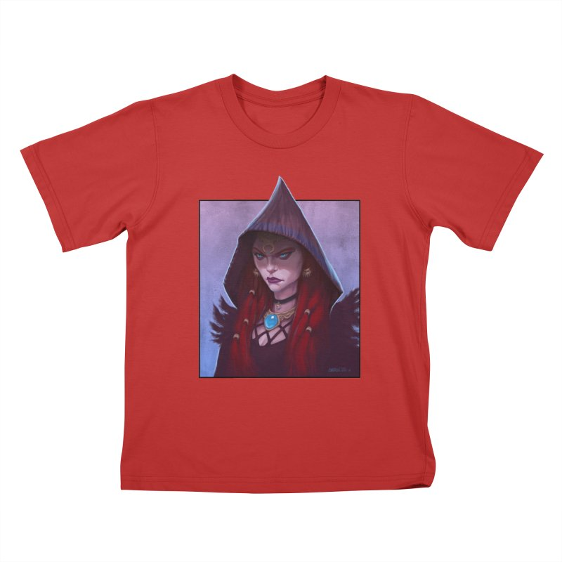 The Priestess Kids T-Shirt by Ambrose H.H.'s Artist Shop