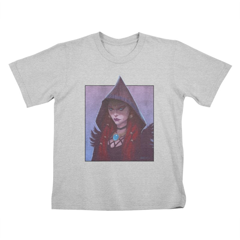 The Priestess Kids T-Shirt by Ambrose H.H.'s Artist Shop