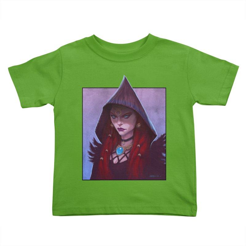 The Priestess Kids Toddler T-Shirt by Ambrose H.H.'s Artist Shop