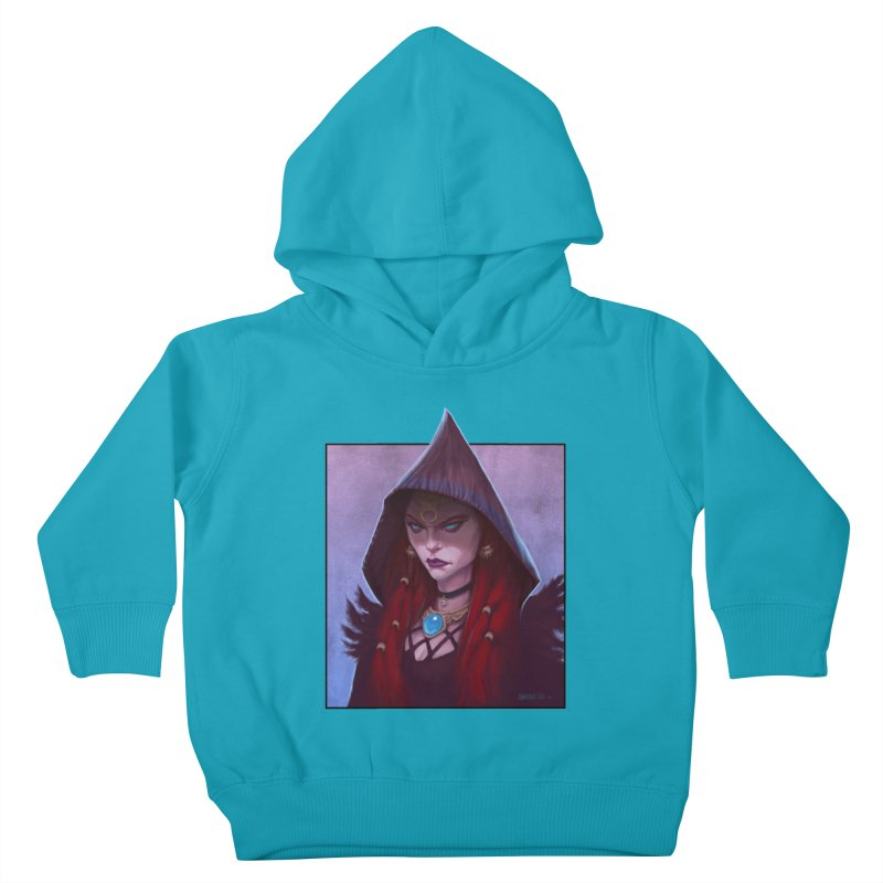 The Priestess Kids Toddler Pullover Hoody by Ambrose H.H.'s Artist Shop