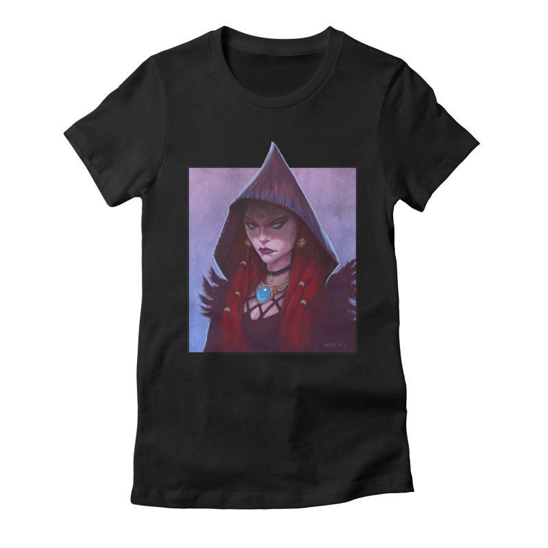 The Priestess Women's T-Shirt by Ambrose H.H.'s Artist Shop