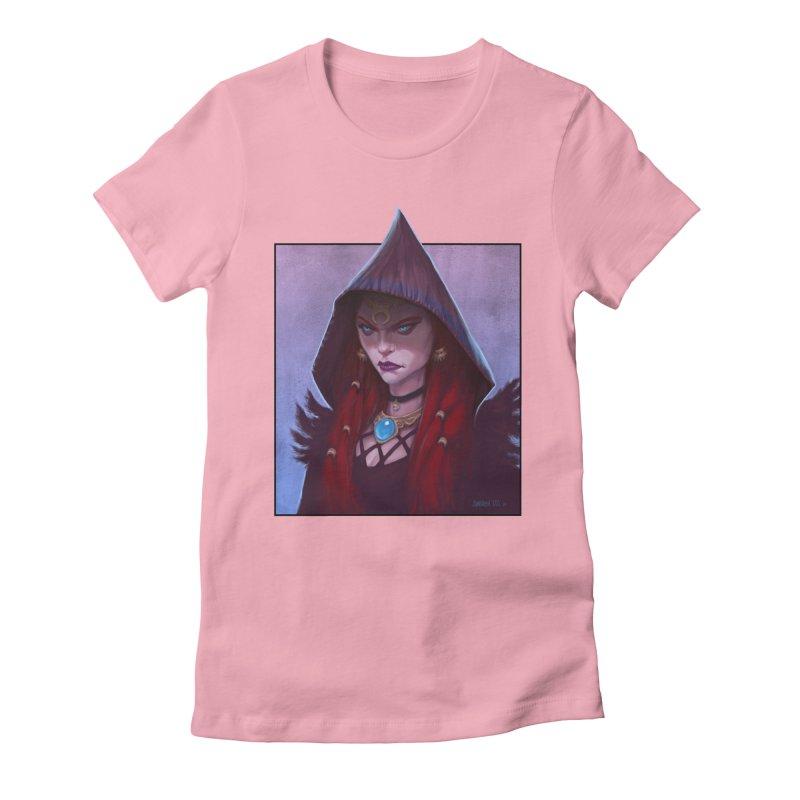 The Priestess Women's T-Shirt by Ambrose H.H.'s Artist Shop