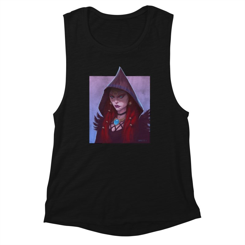 The Priestess Women's Tank by Ambrose H.H.'s Artist Shop