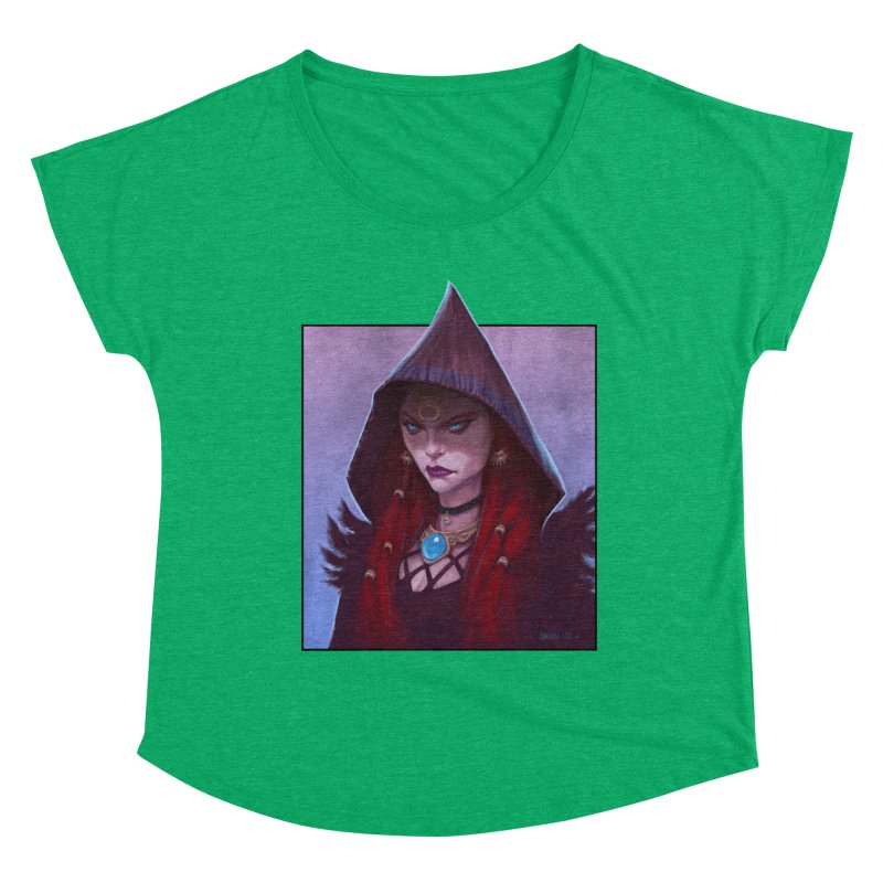 The Priestess Women's Scoop Neck by Ambrose H.H.'s Artist Shop
