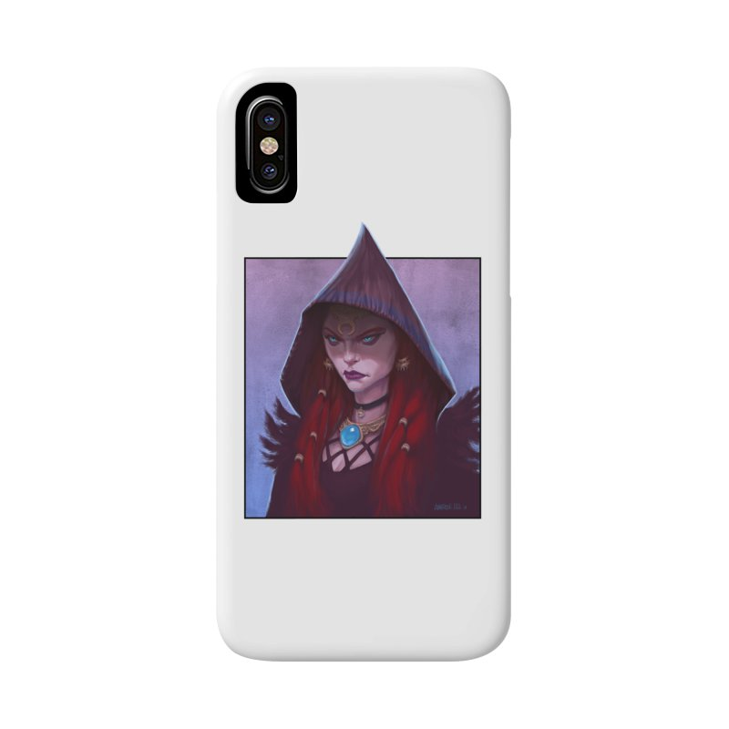 The Priestess Accessories Phone Case by Ambrose H.H.'s Artist Shop