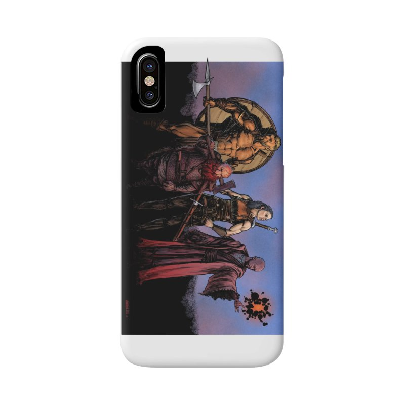 Adventurers Accessories Phone Case by Ambrose H.H.'s Artist Shop