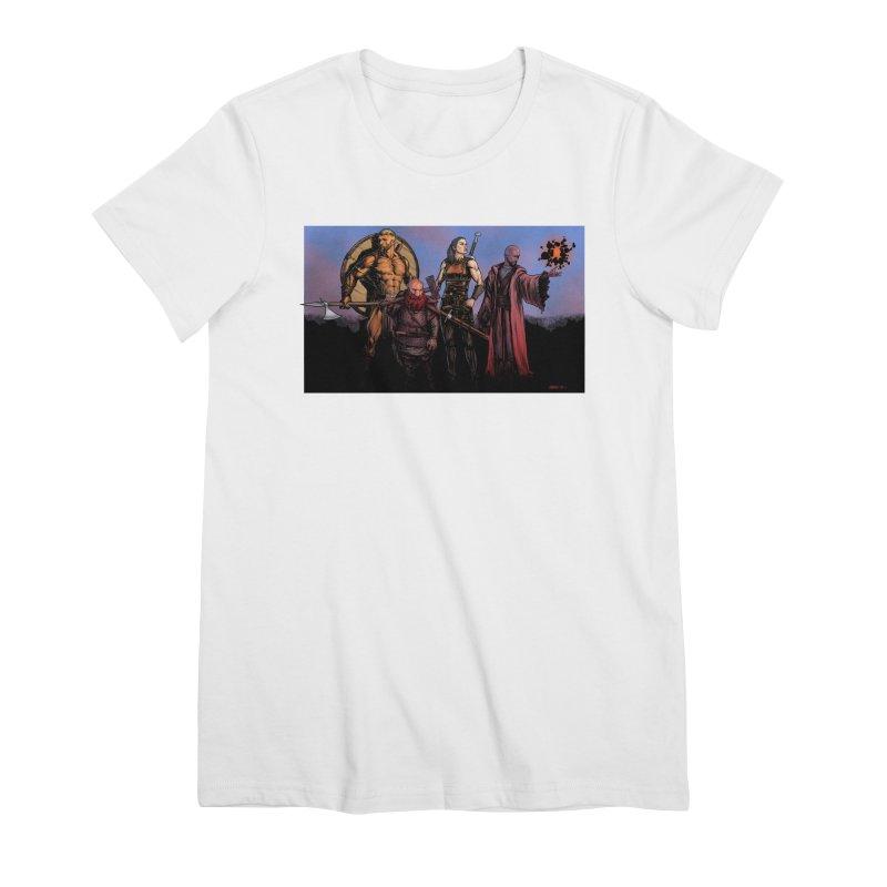Adventurers Women's Premium T-Shirt by Ambrose H.H.'s Artist Shop