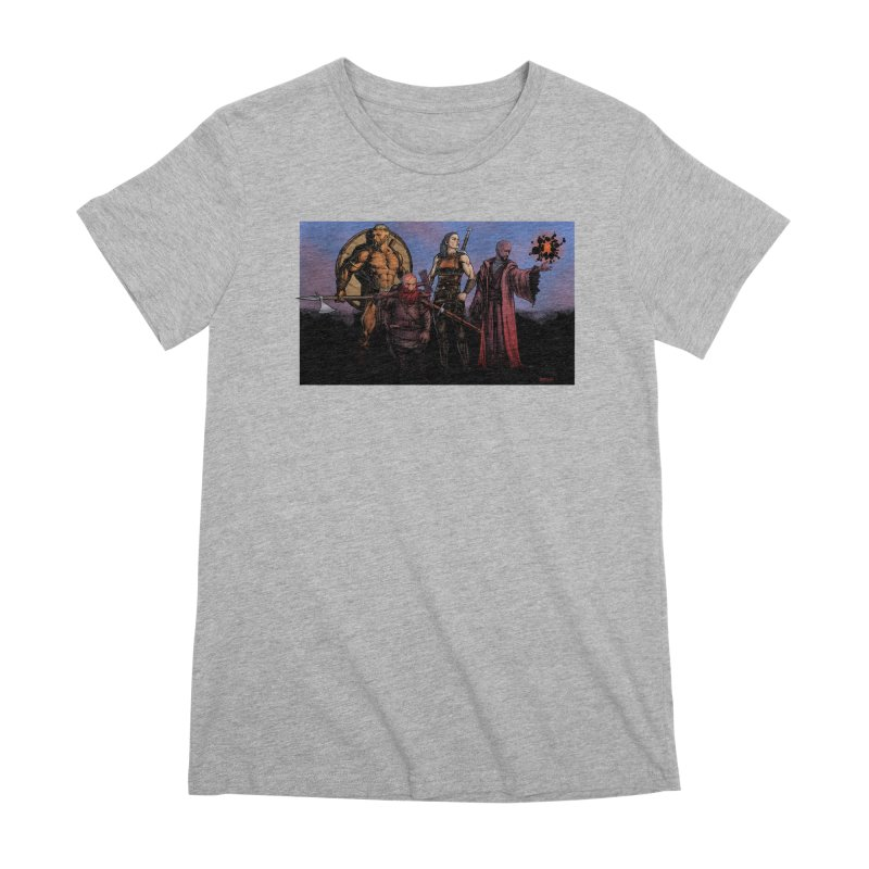 Adventurers Women's Premium T-Shirt by Ambrose H.H.'s Artist Shop