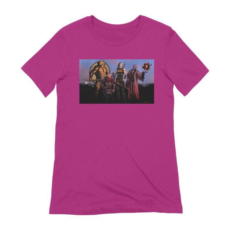 Adventurers Women's Extra Soft T-Shirt by Ambrose H.H.'s Artist Shop
