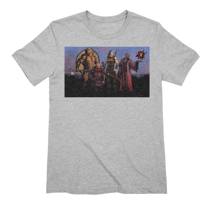 Adventurers Men's T-Shirt by Ambrose H.H.'s Artist Shop